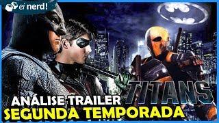 TRAILER TITÃS: NOVO BATMAN E DEATHSTROKE