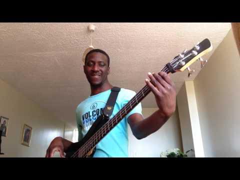 Sonnie Badu My Soul Says Yes (Bass Cover)