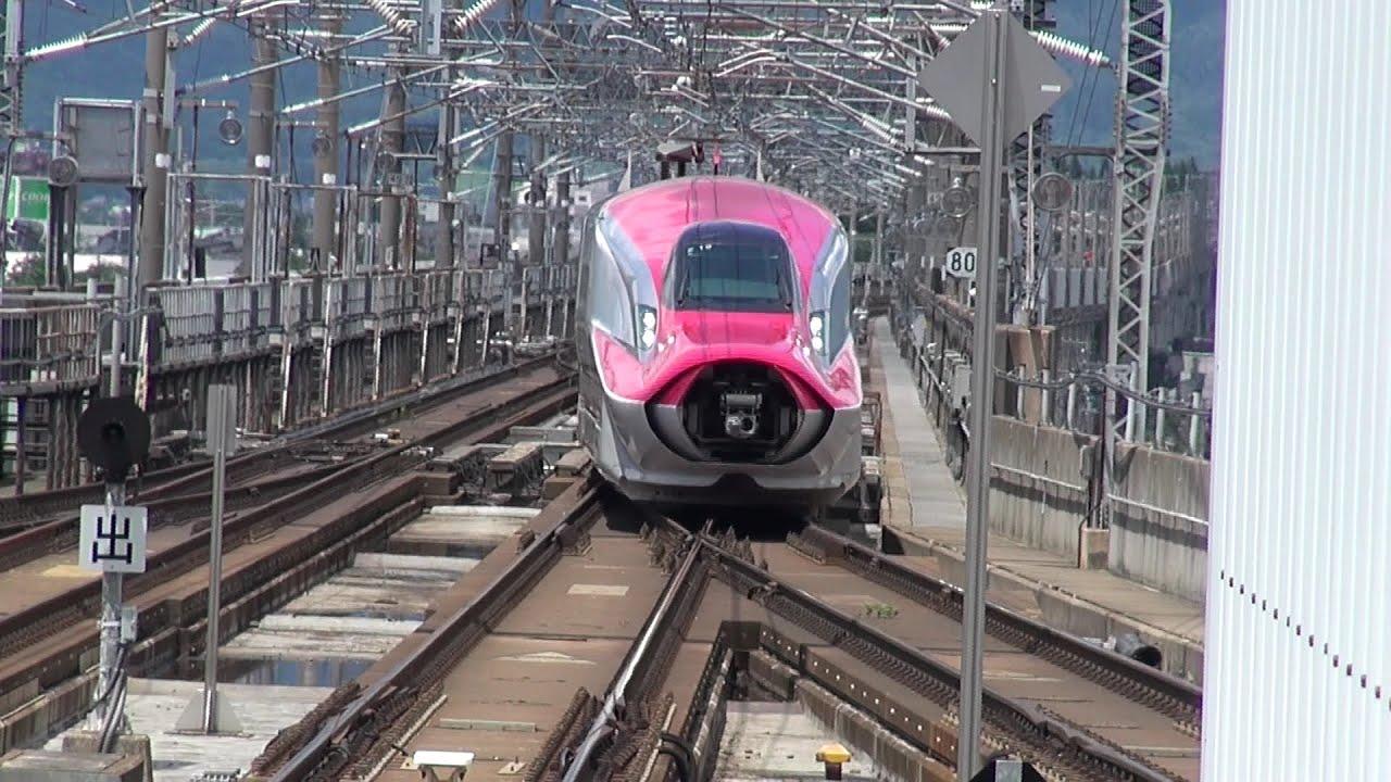 盛岡駅ではやぶさ・こまちの連結や分割を撮ってみた(その1)