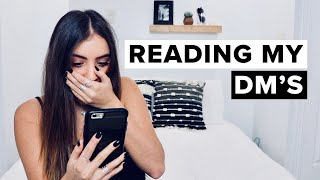 READING MY DM'S | Sofia Conte
