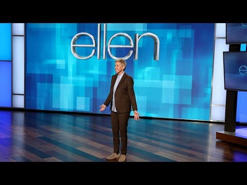 Big Mike - Ellen Talks About Hanging Out With President Bush.