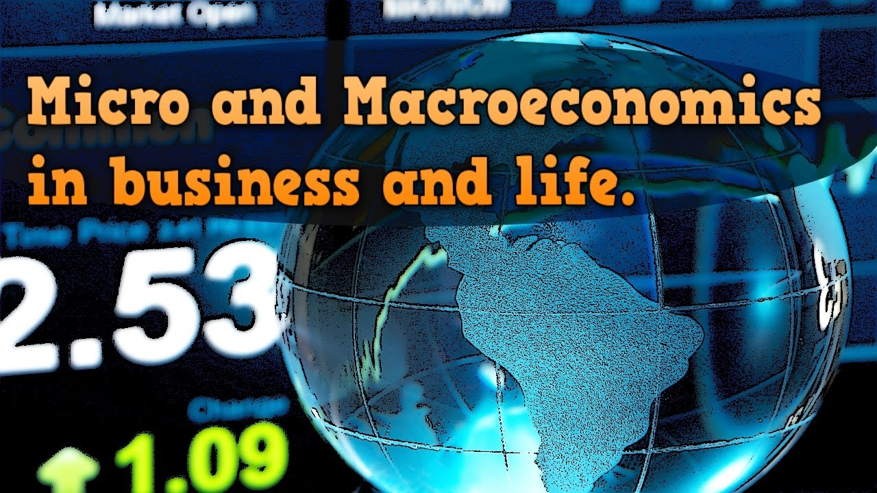 how microeconomics affects business The word 'firm' is used generically to refer to all types of business  microeconomics contrasts with the study of macroeconomics, which considers  the  to producers, who have to estimate the potential effects of their pricing  strategies over time.