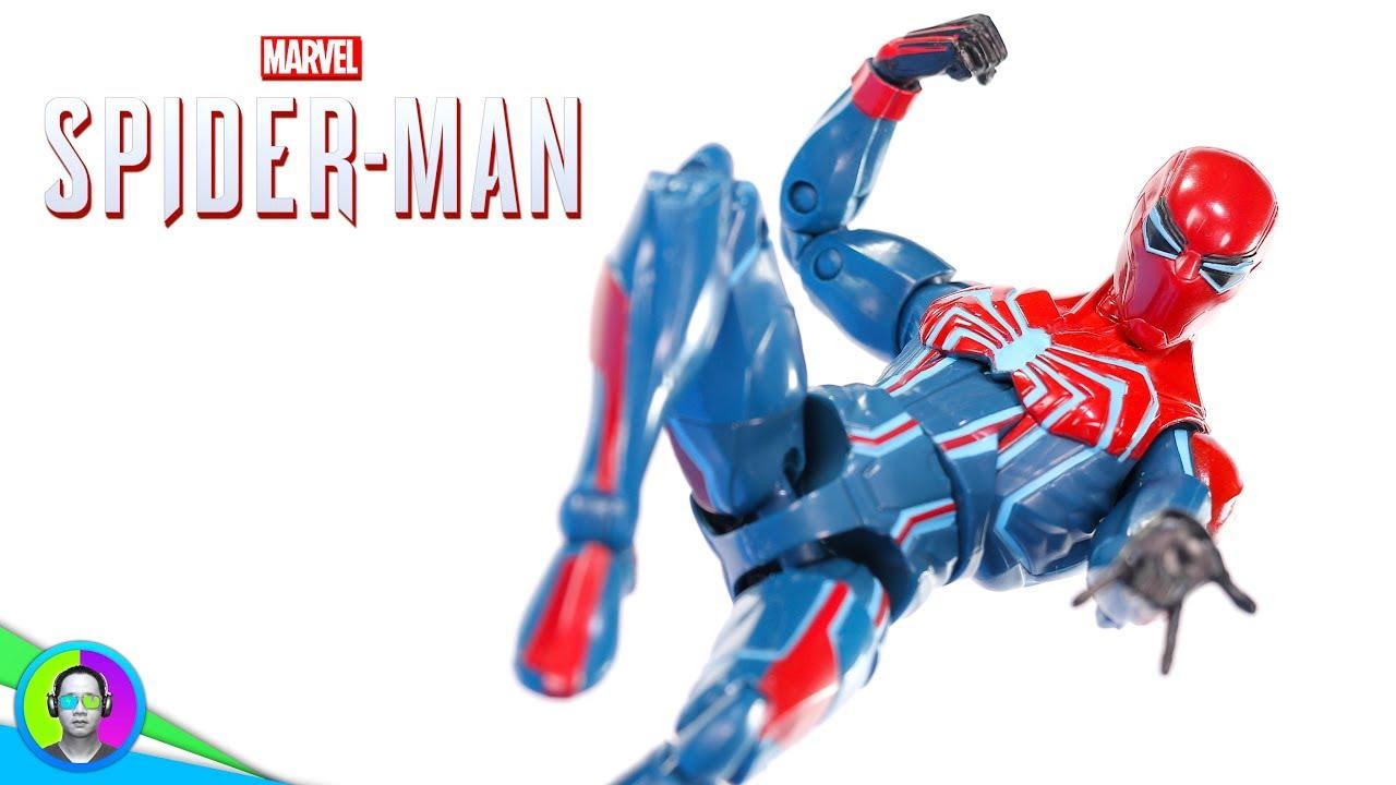 demogoblin BAF Marvel Legends Spider-Man-gamerverse Spider-Man Velocity