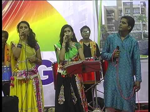 Live Garba Navratri Song Non Stop Day 8 - Part - 1