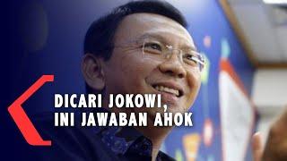 Dicari Jokowi Saat Imlek, Begini Jawaban Ahok