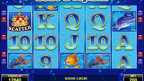 Blue Dolphin slot - Online slotmachine by Amatic with Review