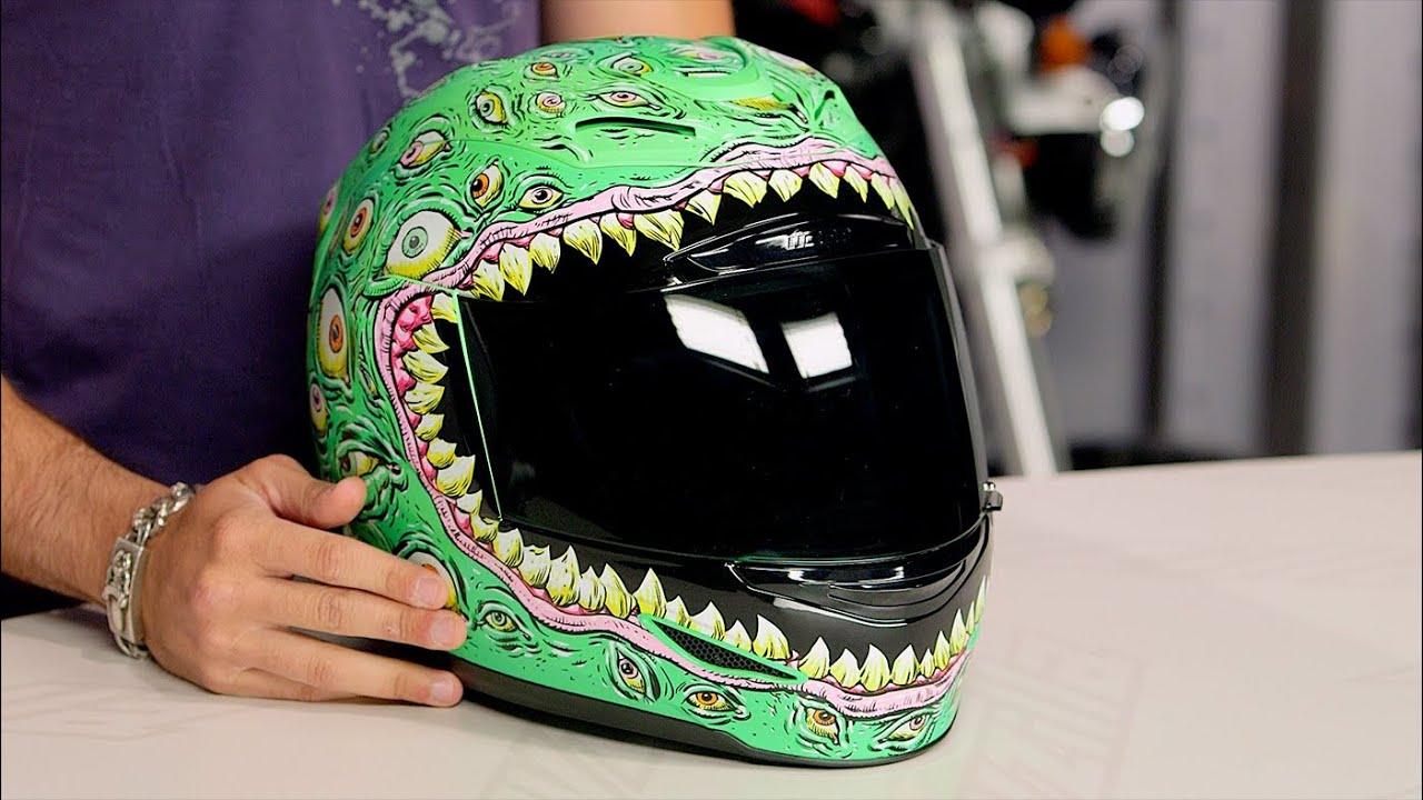Icon Airmada Sensory Helmet Review at RevZilla.com - YouTube