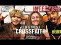 Capture de la vidéo Crossfaith クロスフェイス - Amano Tatsuya And Koie Kenta Interview @linea Rock 2018 By Barbara Caserta