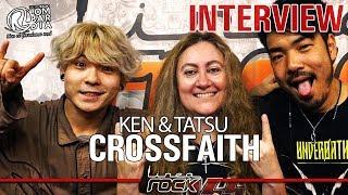 CROSSFAITH クロスフェイス - Amano Tatsuya and Koie Kenta interview @Linea Rock 2018 by Barbara Caserta