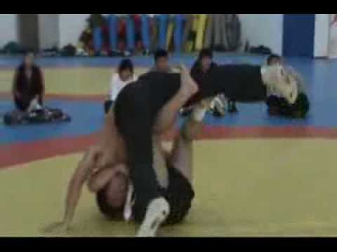 Shuaijiao Wrestling, Shanghai University of Sport (Part 1)