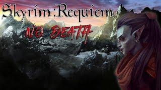 Skyrim - Requiem 2.0 (без смертей) - Босмерка-танка (Данмер-Волшебница умерла)