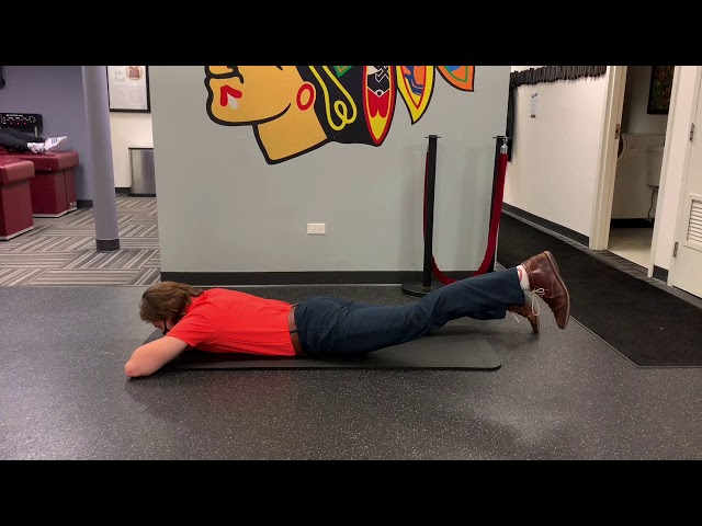 Prone Unilateral Hip Extension with Abduction