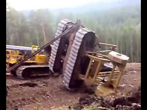 Accident Of A Pipeline Bulldozer In Russia YouTube