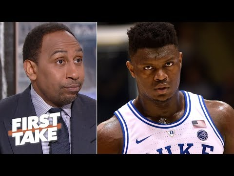 Zion Williamson can live up to the LeBron hype - Stephen A. | First Take