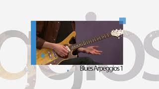 Paul Gilbert Guitar Lesson: Blues Arpeggios 1