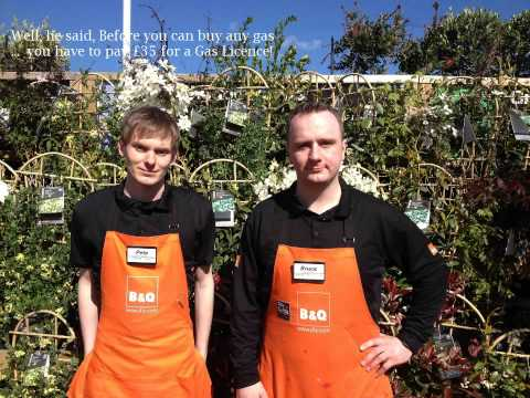 Buying a Gas Barbecue from B&Q!