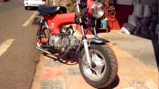 monkey bike 125 escape artesanal
