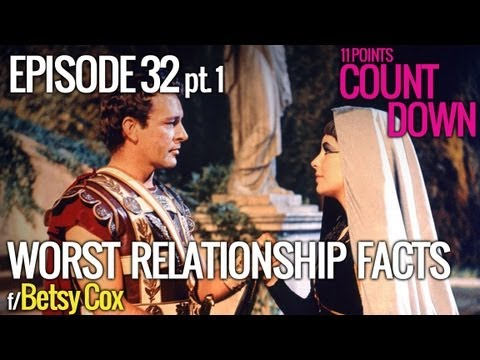 Betsy Cox  11 Worst Things About Being in a Relationship, Part 1  11 Points Countdown