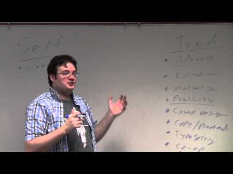 Brandon Sanderson 2013 Lecture 9: Traditional vs Self Publishing (1/6)