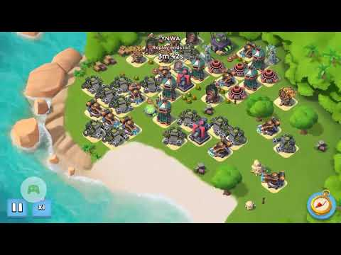 Boom Beach Dr T Stage 7 Unboosted TMeds REPLAY FAILED SEE DESCRIPTION August 22nd/2017