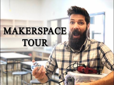 Classroom Tour-MAKERSPACE
