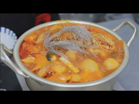 Yang soo bin) 큰 꽃게 듬뿍 들어간 매운 닭볶음탕!!! 진짜..너무 맛있는거 아니야?..