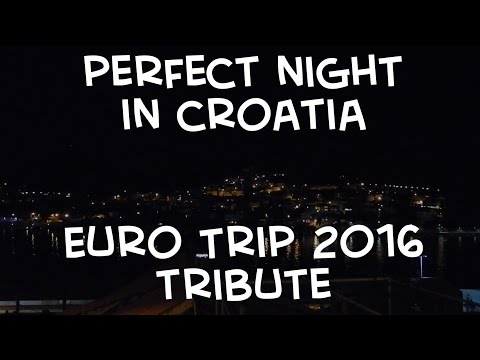 Song Over the Water in Dubrovnik!! EURO2016 - CreateYourOwnFreedom
