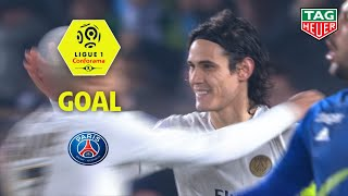 Goal Edinson CAVANI (71' pen)/RC Strasbourg Alsace - Paris Saint-Germain (1-1)(RCSA-PARIS)/2018-19