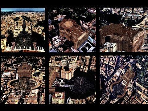World landmark Rome built in 20sec STOP MOTION art animation