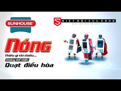 Phim quảng cáo TVC | Quạt điều hoà Sunhouse 30s | Video Viral Marketing | Thiếu gì thì thiếu