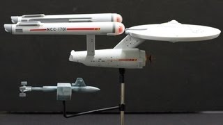 Completing the Polar Lights 1/1000 Scale USS Enterprise Space Seed Edition