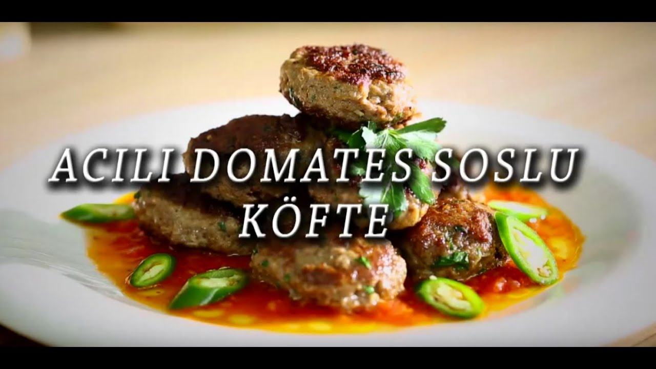 Domates Soslu Köfte