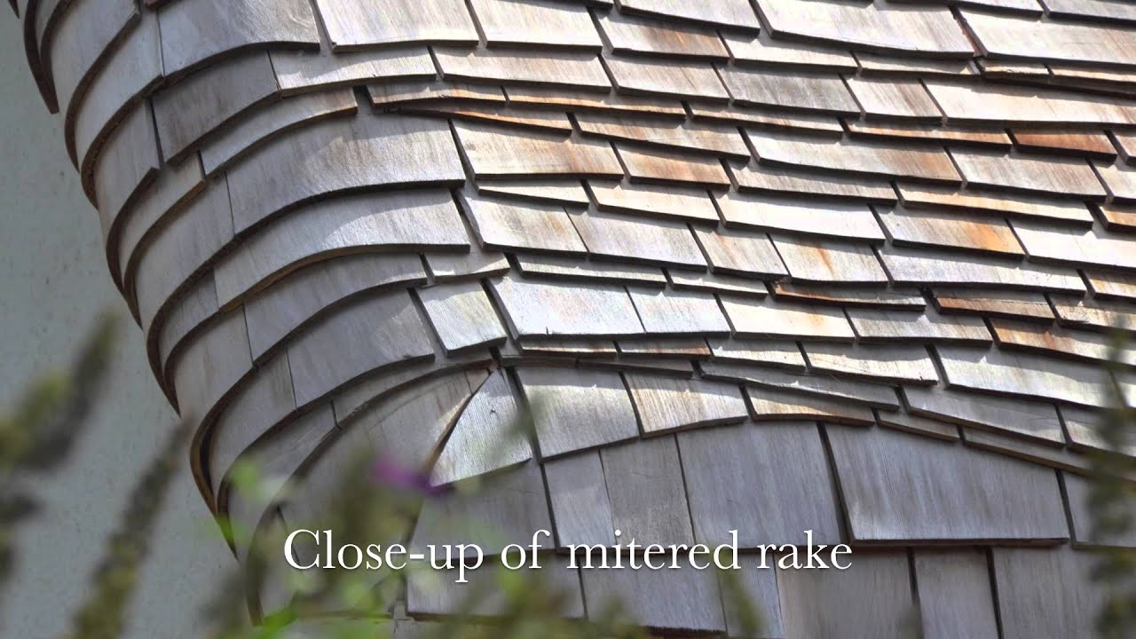 Roofing With Cedar Shingles Beauty Amp Art Of Wave Coursed