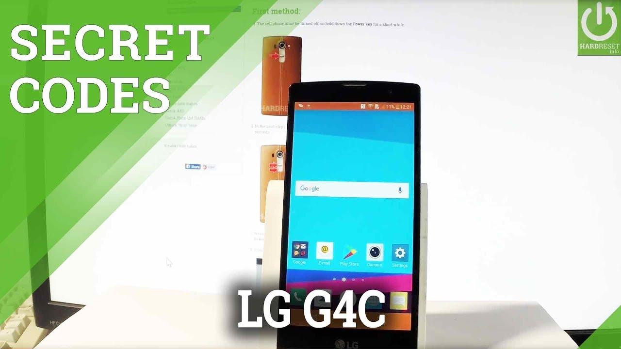 Secret Codes LG G4c - Tips & Tricks / Hidden Mode