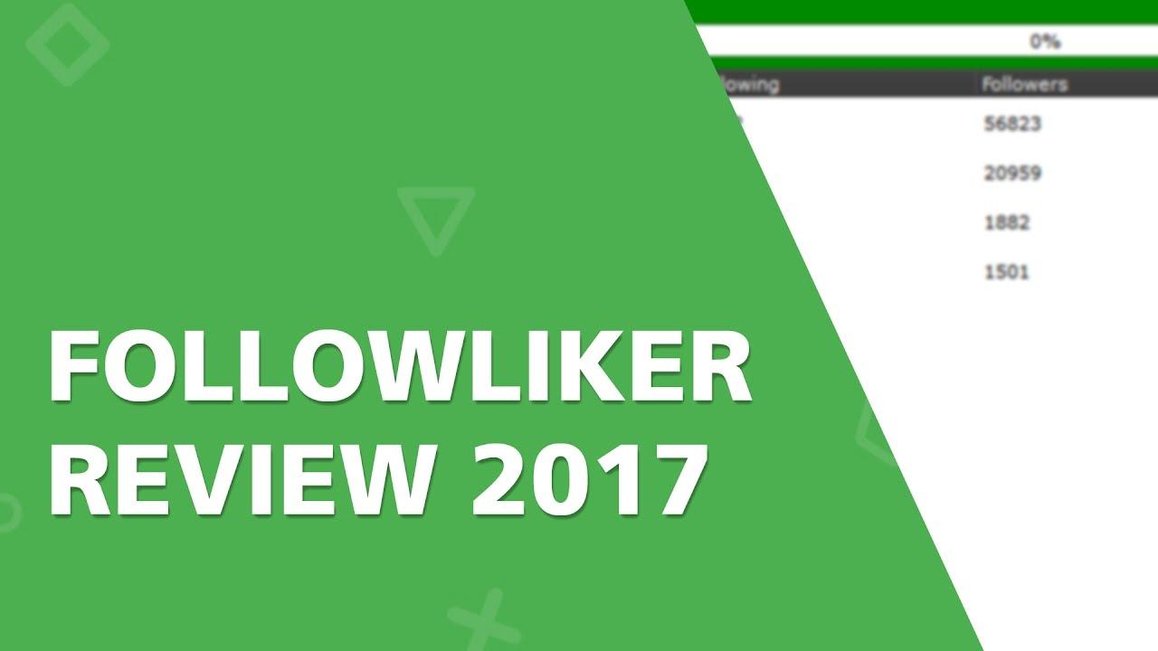FollowLiker Review: Instagram Edition 2017