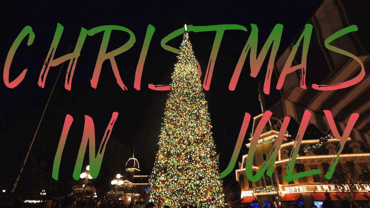 Disney Christmas in July!! | Dare to Disney Vlogs