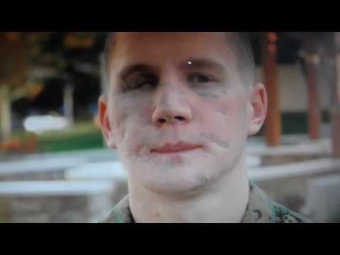 William Kyle Carpenter, Marine, takes grenade to save friend