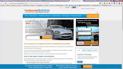 Student Car Insurance Plans, Quotes and Deals
