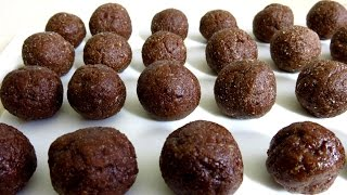 Healthy Raw Cacao Bliss Balls