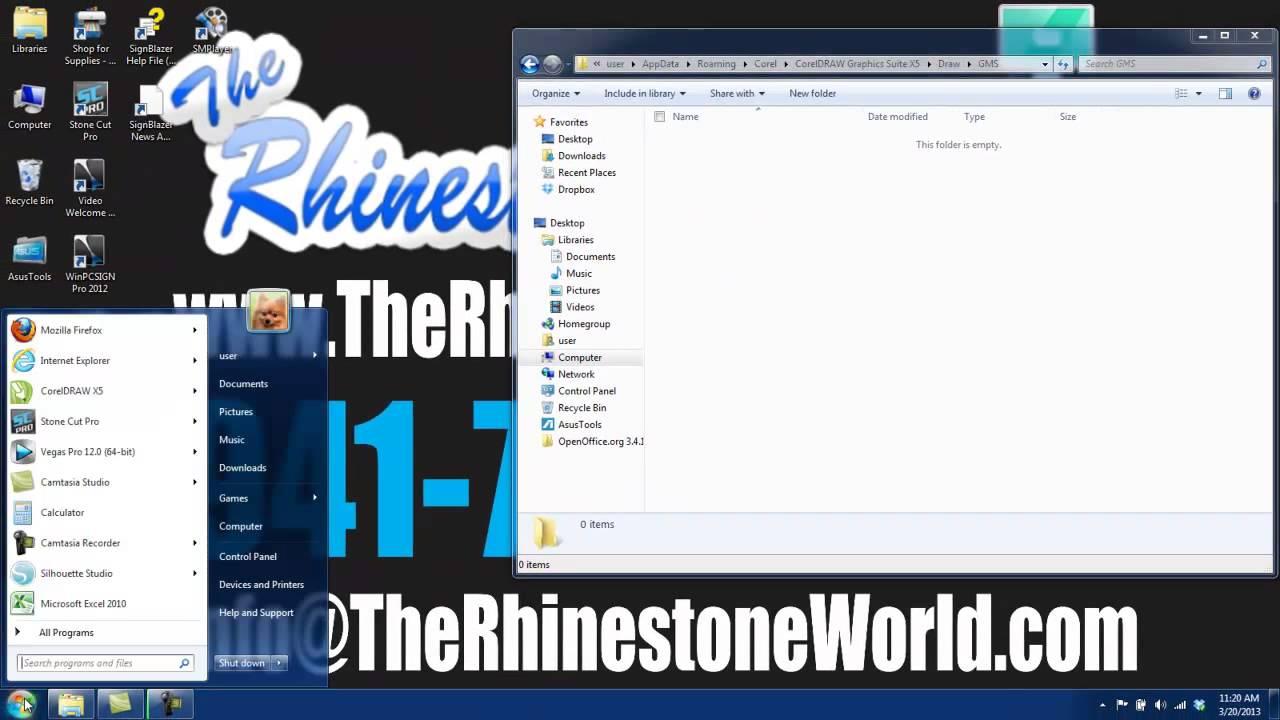 Macros for coreldraw x8 - How To Install Trw Stone Editor Rhinestone Macro In Corel Draw X3 X4 X5 And X6 The Rhinstone World Youtube