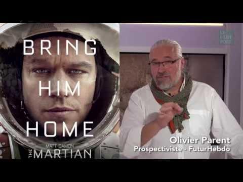 """LES CHRONIQUES CINEMA DE FUTURHEBDO EN VIDEO : Ce que """"Seul sur Mars"""" à nous dire sur demain"""