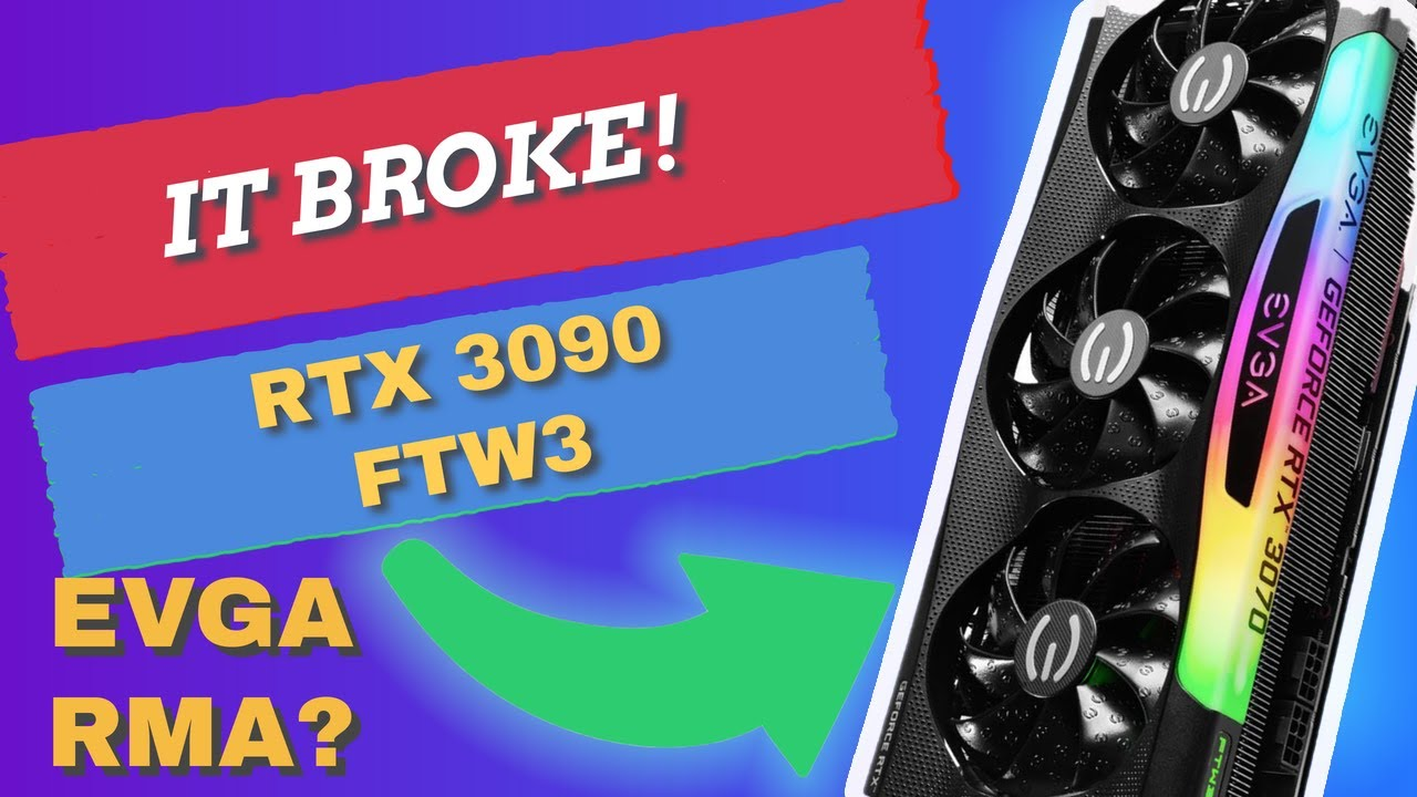 DEAD! Nvidia RTX 3090 FTW3 Stops Working, Will EVGA RMA IT?