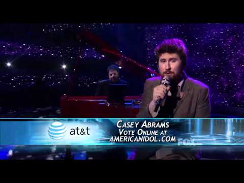 Casey Abrams - Your Song - American Idol Top 11 (2nd Week) - 03/30/11