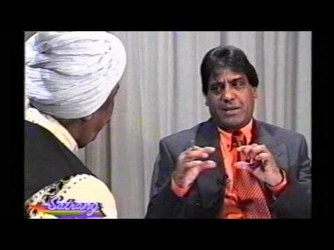 Hazara Singh Ramta high iight with Dev Diwana in Satrang TV show UK