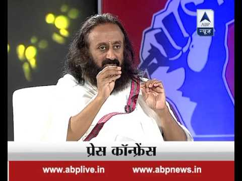 Press Conference: Episode 33: Anti-India slogans are condemnable, says Sri Sri