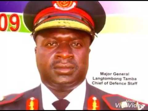 The role of the General Lang Tombong and other top military officers on Gambia's political impasse.
