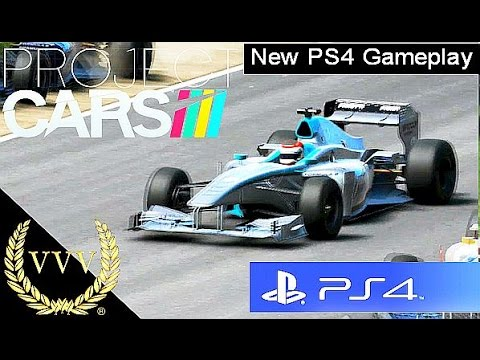Project Cars - PS4 Preview Update Gameplay