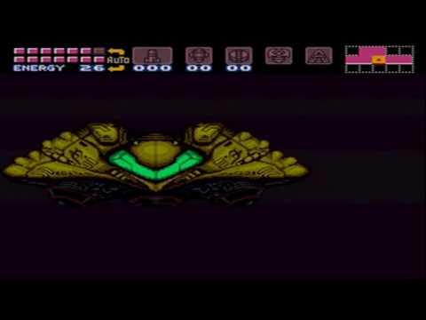 Super Metroid (Justin Bailey sprite hack) 100% Pla...