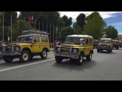 Land Rover 70 Street Parade Cooma