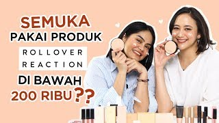 Imani Les Makeup Sama Dinar Pakai Rollover Reaction